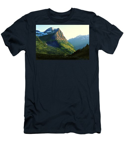 Glacier National Park 2 Men's T-Shirt (Athletic Fit)