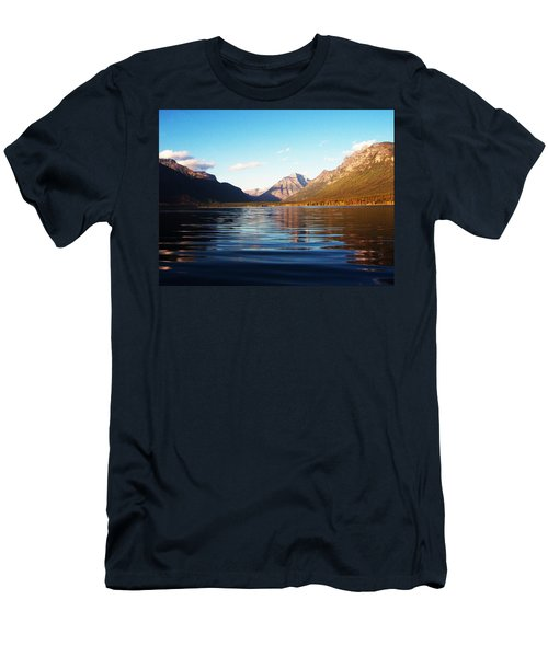 Glacier National Park 7 Men's T-Shirt (Athletic Fit)