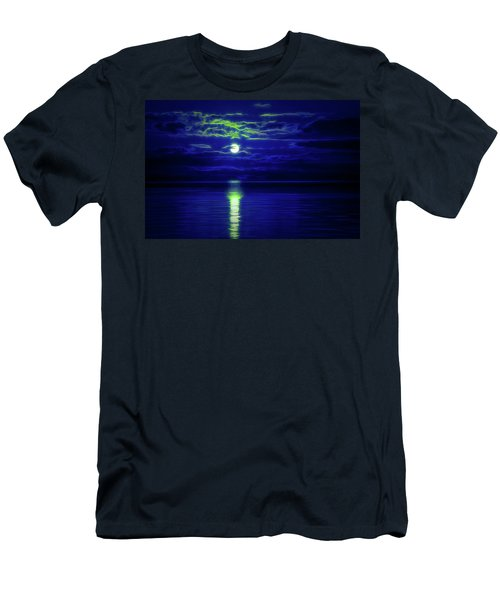 Glow In The Dark Amazing Sunset  Men's T-Shirt (Athletic Fit)