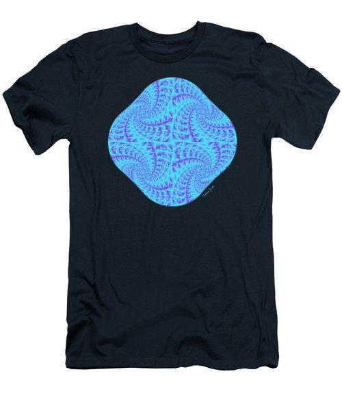 Glowing Moon Diamond Men's T-Shirt (Athletic Fit)