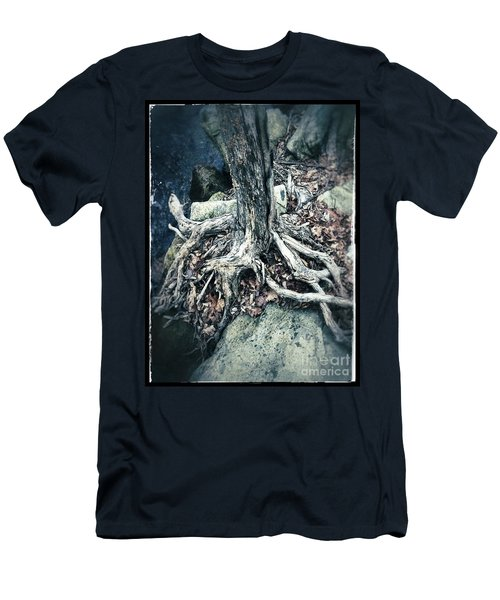 Gnarled Rooted Beauty Men's T-Shirt (Slim Fit) by Jason Nicholas