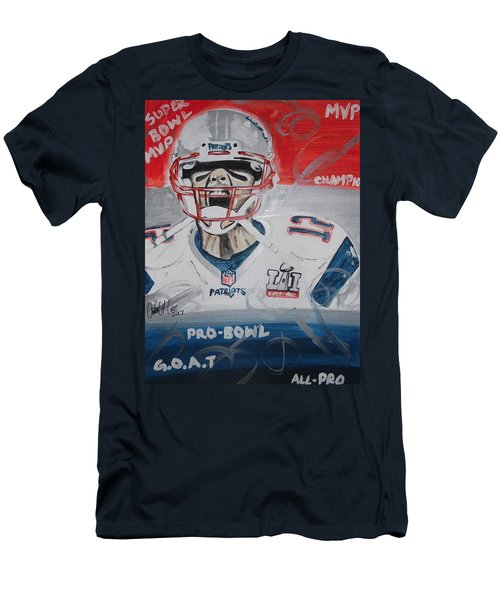 Goat Brady Men's T-Shirt (Athletic Fit)