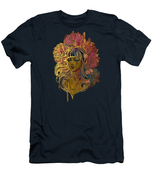 Goddess Lotus Men's T-Shirt (Athletic Fit)