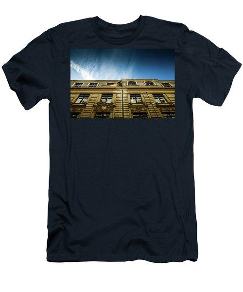 Golden Facade Men's T-Shirt (Slim Fit) by M G Whittingham