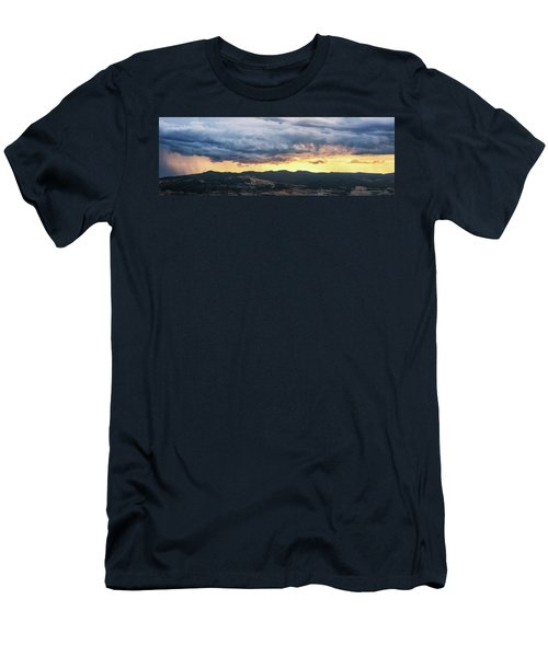 Golden Hour In Volterra Men's T-Shirt (Athletic Fit)