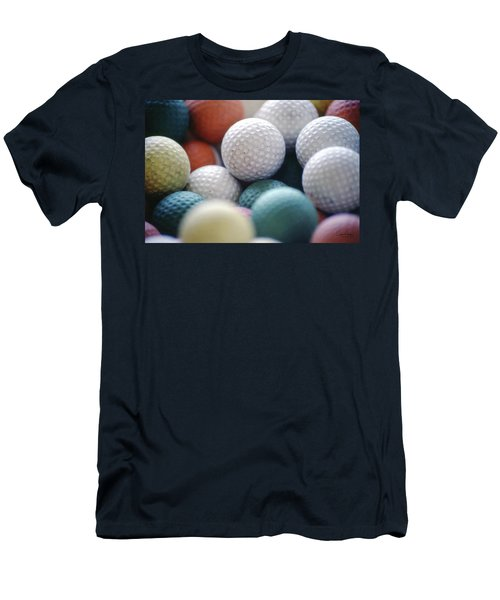 Golf Balls Men's T-Shirt (Athletic Fit)