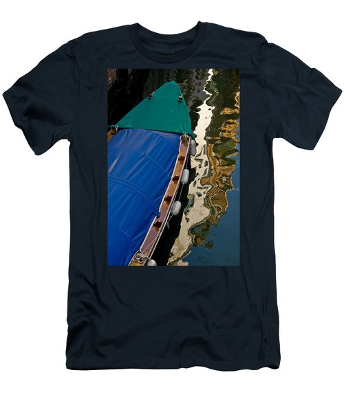 Gondola Reflection Men's T-Shirt (Slim Fit) by Harry Spitz
