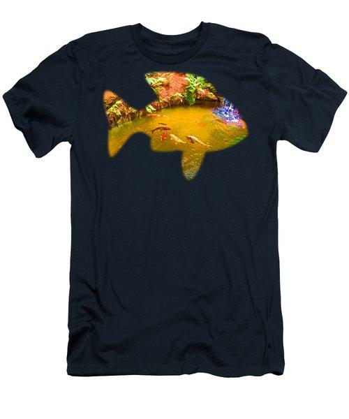 Gone Fishin' Men's T-Shirt (Athletic Fit)