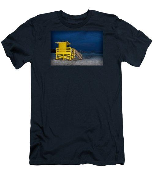 Goodnight Siesta Key Men's T-Shirt (Athletic Fit)
