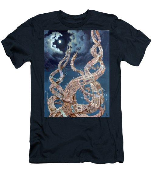 Gothic Genome Men's T-Shirt (Athletic Fit)