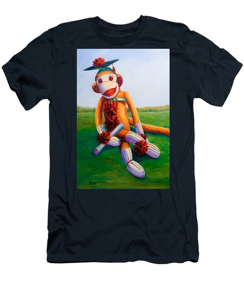 Graduate Made Of Sockies Men's T-Shirt (Athletic Fit)
