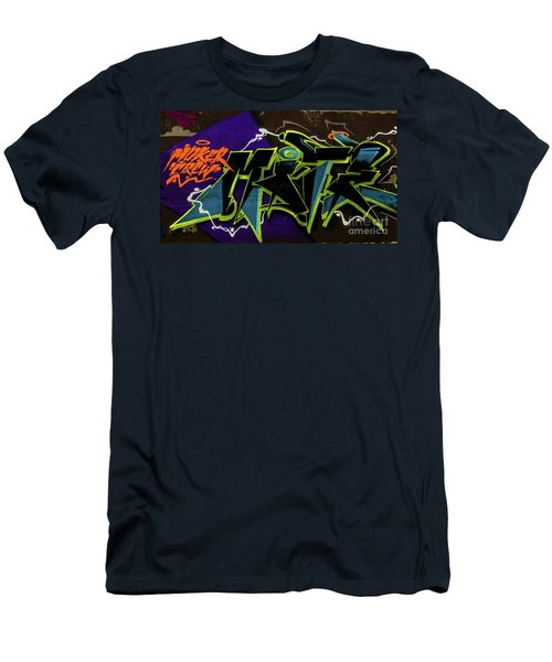 Graffiti_18 Men's T-Shirt (Athletic Fit)