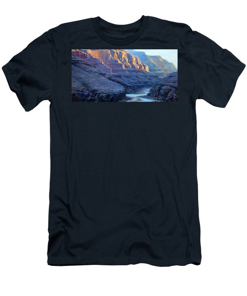 Grand Canyon Dawns Men's T-Shirt (Athletic Fit)