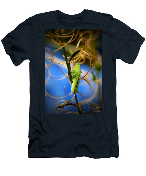 Grassy Hopper Men's T-Shirt (Athletic Fit)