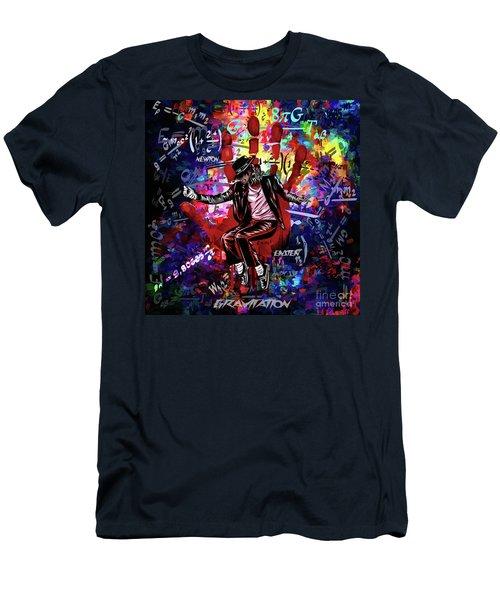Gravitation. Men's T-Shirt (Athletic Fit)