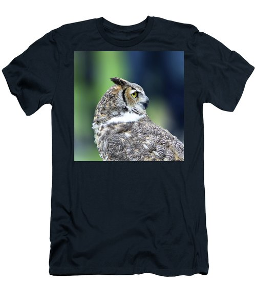 Great Horned Owl Profile Men's T-Shirt (Athletic Fit)