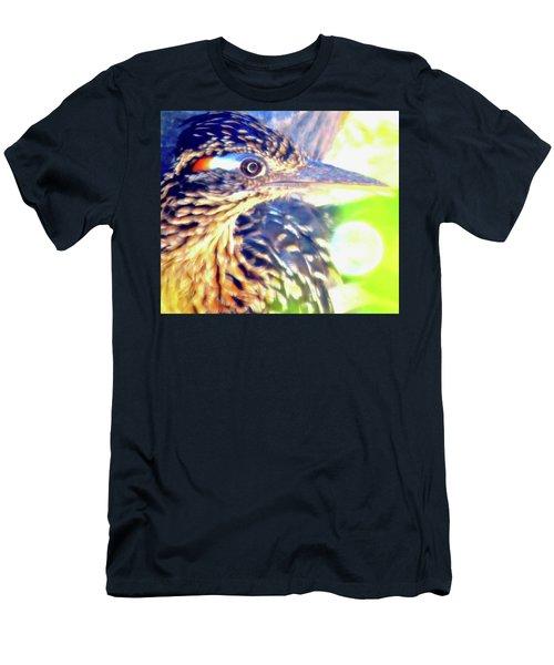 Greater Roadrunner Portrait 2 Men's T-Shirt (Athletic Fit)