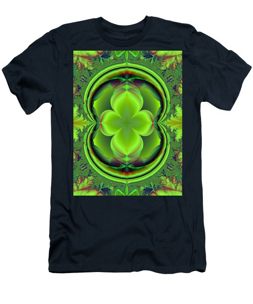 Green Clover Men's T-Shirt (Athletic Fit)
