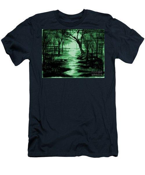 Green Mist Men's T-Shirt (Athletic Fit)