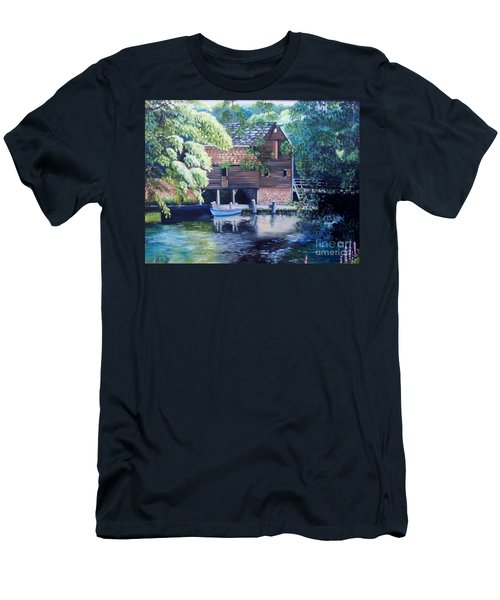 Grist Mill Philipsburg N Y Men's T-Shirt (Athletic Fit)