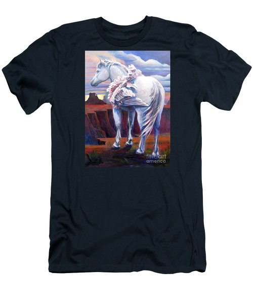 Grounded Men's T-Shirt (Slim Fit) by Pat Burns