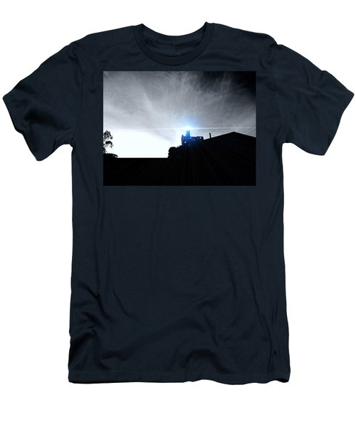 Guiding Light-alcatraz Men's T-Shirt (Slim Fit) by Douglas Barnard