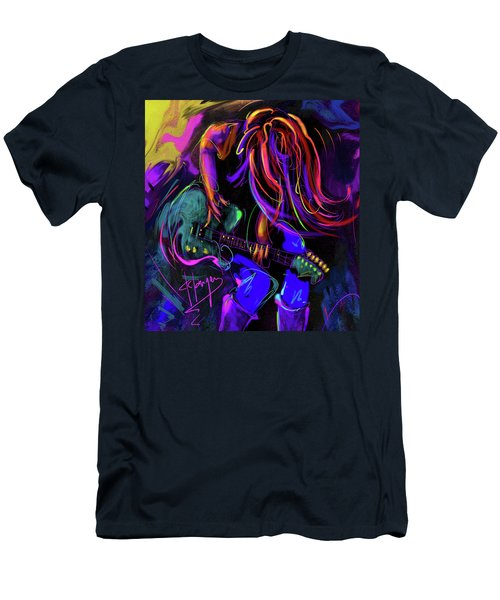Hair Guitar 2 Men's T-Shirt (Athletic Fit)