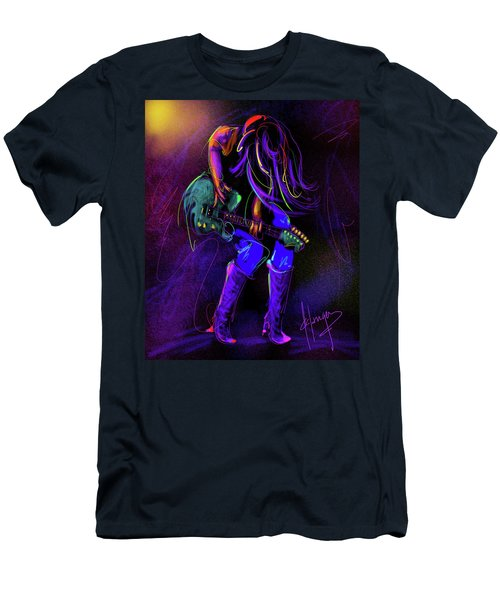 Hair Guitar Men's T-Shirt (Athletic Fit)