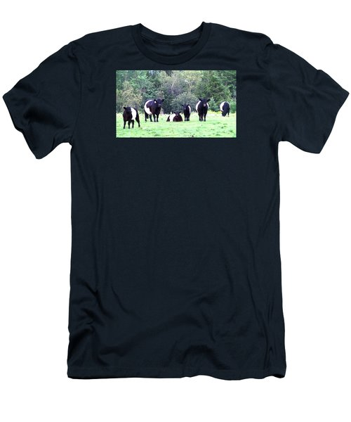 Half A Dozen Oreos Men's T-Shirt (Slim Fit) by Mike Breau