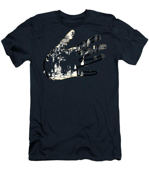 Hands On Laconia Men's T-Shirt (Athletic Fit)
