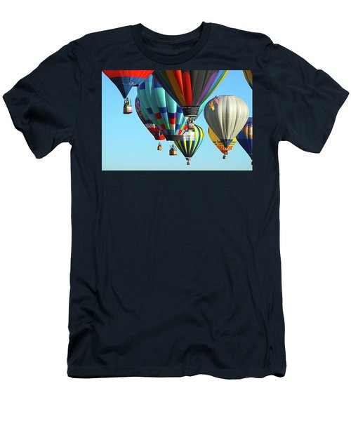 Men's T-Shirt (Slim Fit) featuring the photograph Hanging Around by Marie Leslie