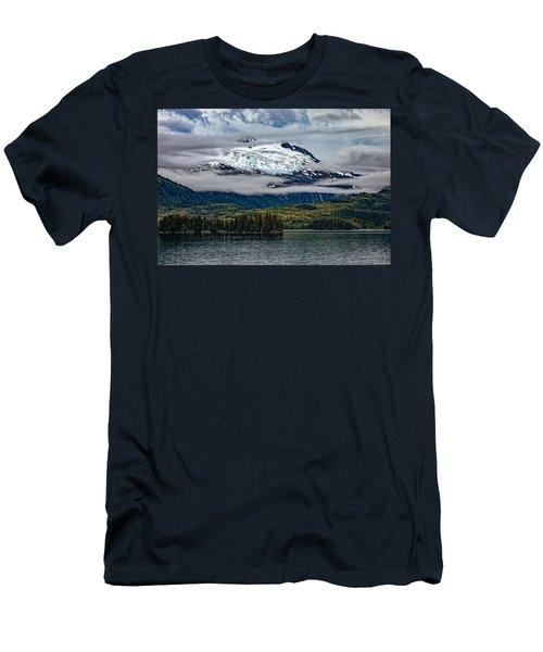 Hanging Glacier Men's T-Shirt (Athletic Fit)