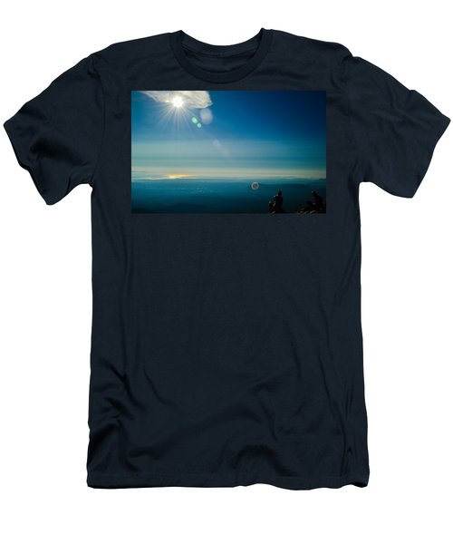 Hanging Out On The Summit Men's T-Shirt (Athletic Fit)