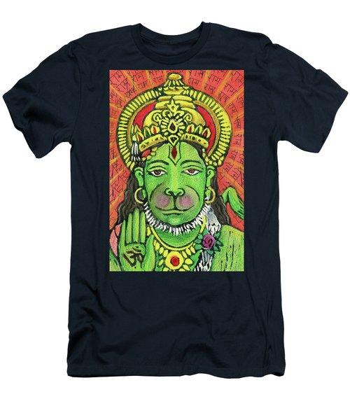 Hanuman Portrait  Men's T-Shirt (Athletic Fit)