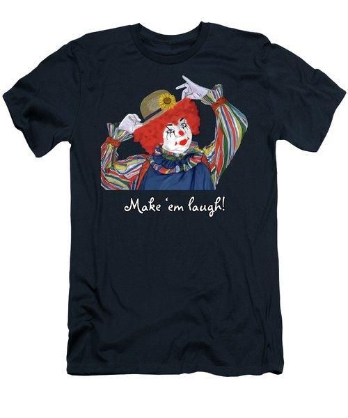 Happy Clown Men's T-Shirt (Athletic Fit)