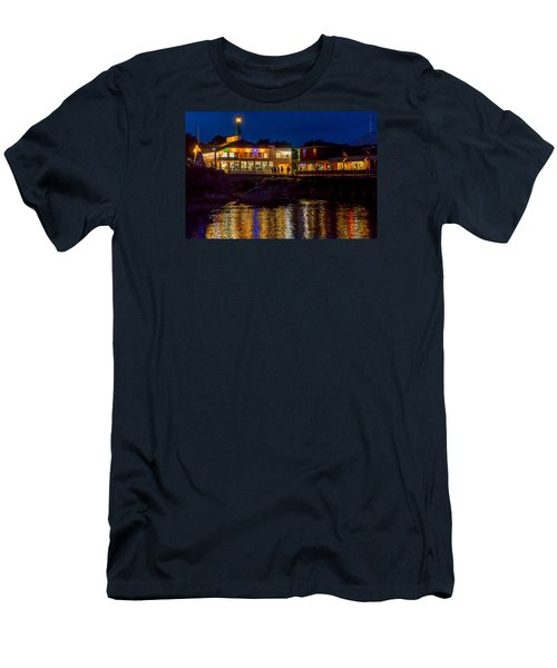 Harbor House Men's T-Shirt (Slim Fit) by Derek Dean