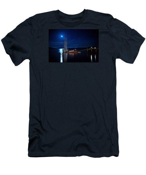 Harbor Moon Men's T-Shirt (Athletic Fit)