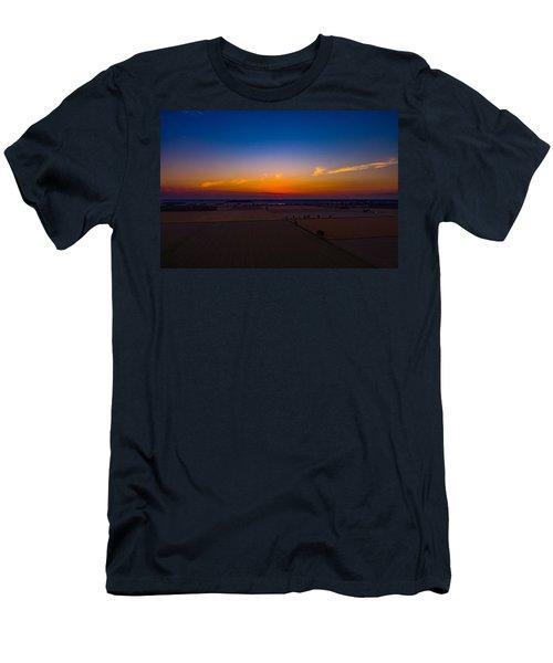 Harvest Sunrise Men's T-Shirt (Athletic Fit)