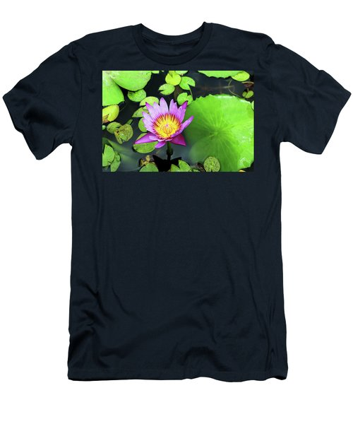Hawaii Flora Men's T-Shirt (Slim Fit) by Denise Moore
