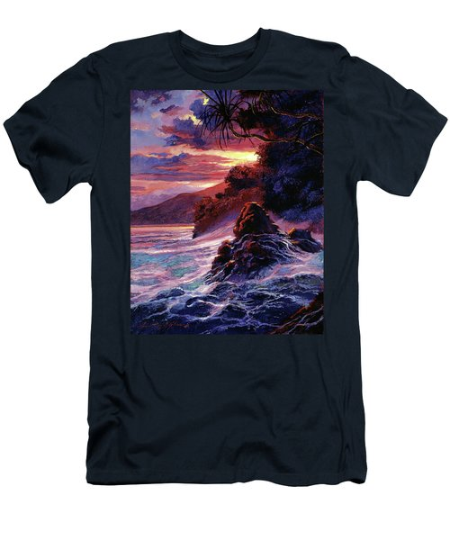 Hawaiian Sunset - Kauai Men's T-Shirt (Athletic Fit)