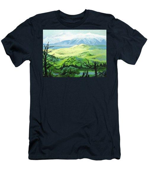 Hawk Meadows Men's T-Shirt (Athletic Fit)