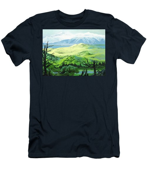 Hawk Meadows Men's T-Shirt (Athletic Fit)