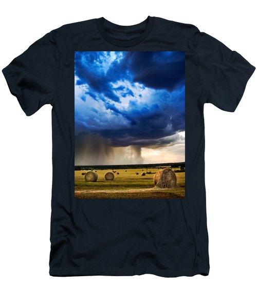 Hay In The Storm Men's T-Shirt (Athletic Fit)