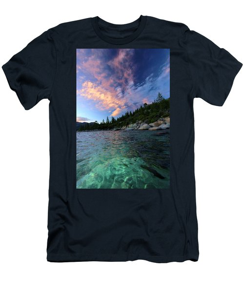 Men's T-Shirt (Athletic Fit) featuring the photograph Healing Waters by Sean Sarsfield