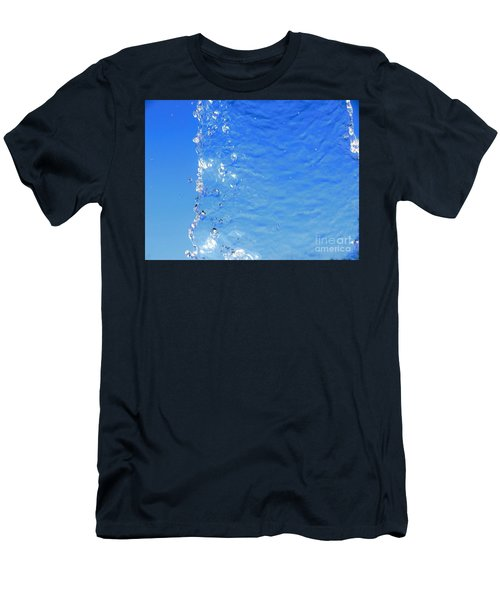 Men's T-Shirt (Slim Fit) featuring the photograph Waterfall by Ray Shrewsberry