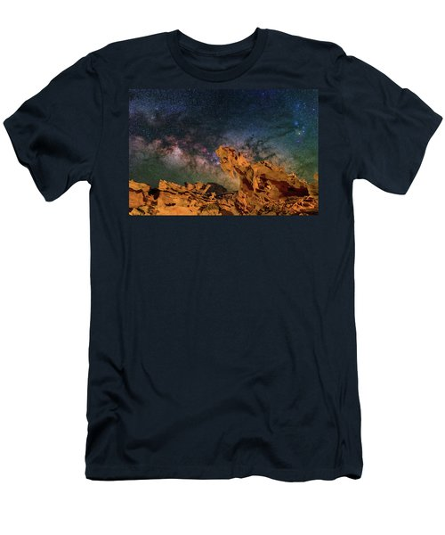 Heavenly Horses Men's T-Shirt (Athletic Fit)
