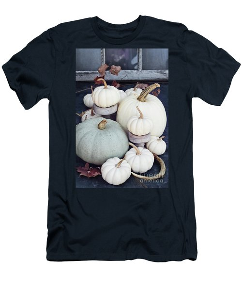 Heirloom Pumpkins And Antlers Men's T-Shirt (Athletic Fit)