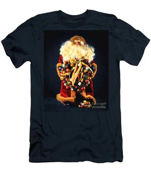Here Comes Santa Men's T-Shirt (Athletic Fit)