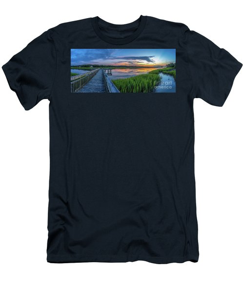 Heritage Shores Nature Preserve Sunrise Men's T-Shirt (Athletic Fit)