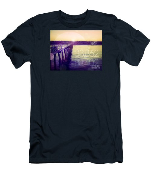 Men's T-Shirt (Slim Fit) featuring the photograph Hermosa Beach California by Phil Perkins